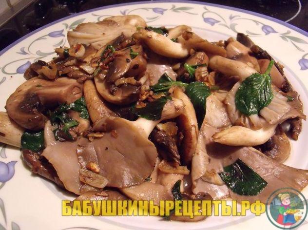 грибы рыжики
