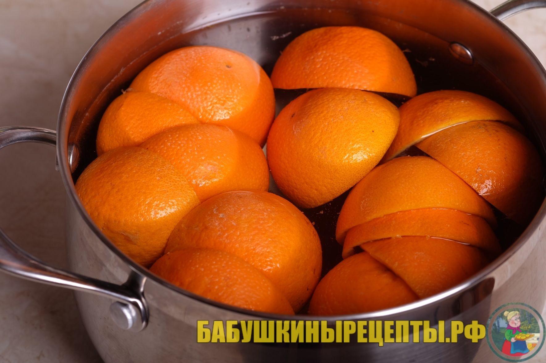 отвар из мандаринов
