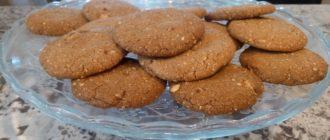 овсяные печенье