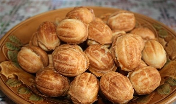 орешки на кефире