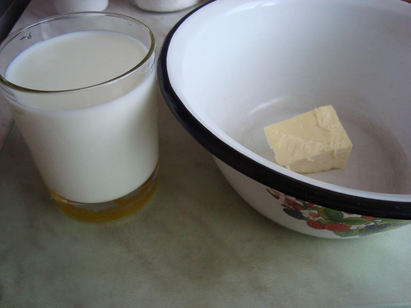 Масло, молоко