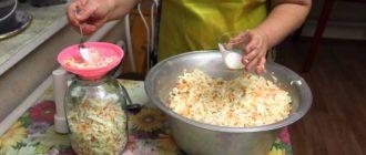квашенная капуста рецепт бабушки
