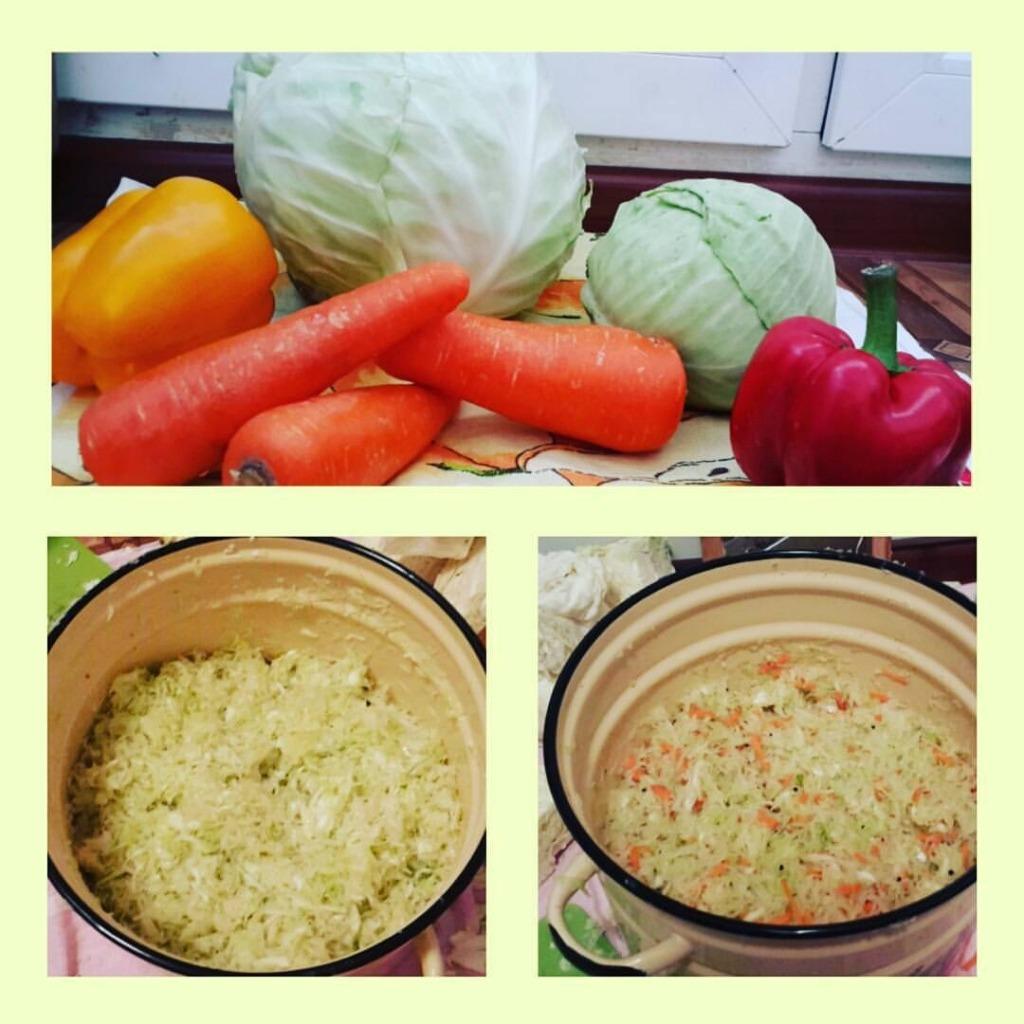 ингредиенты для квашенной капусты