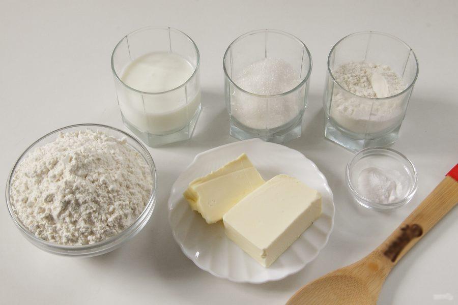 слойки на кефире ингредиенты