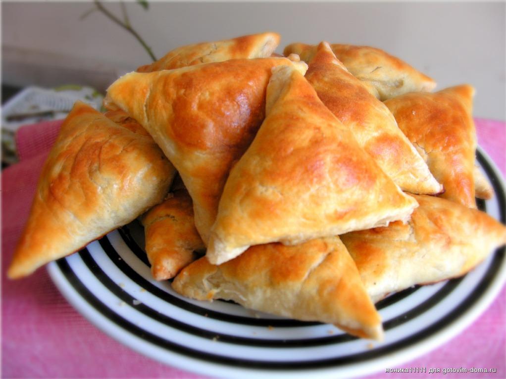 Самса с тыквой по-таджикски