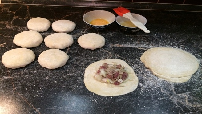 приготовление арабской самсы