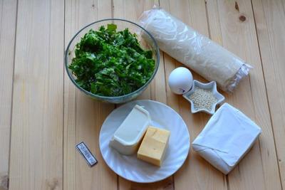 Слойки со шпинатом ингредиенты