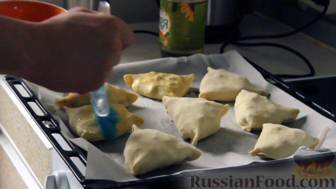 приготовление самсы на кефире
