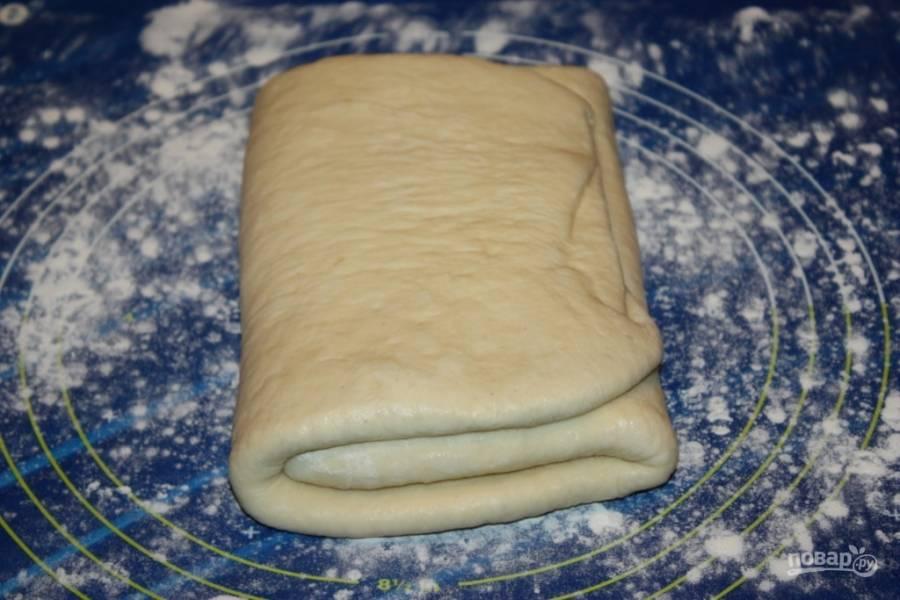слоеное тесто для слоек