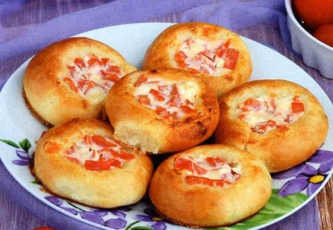 сырная ватрушка с сосисками рецепт с фото