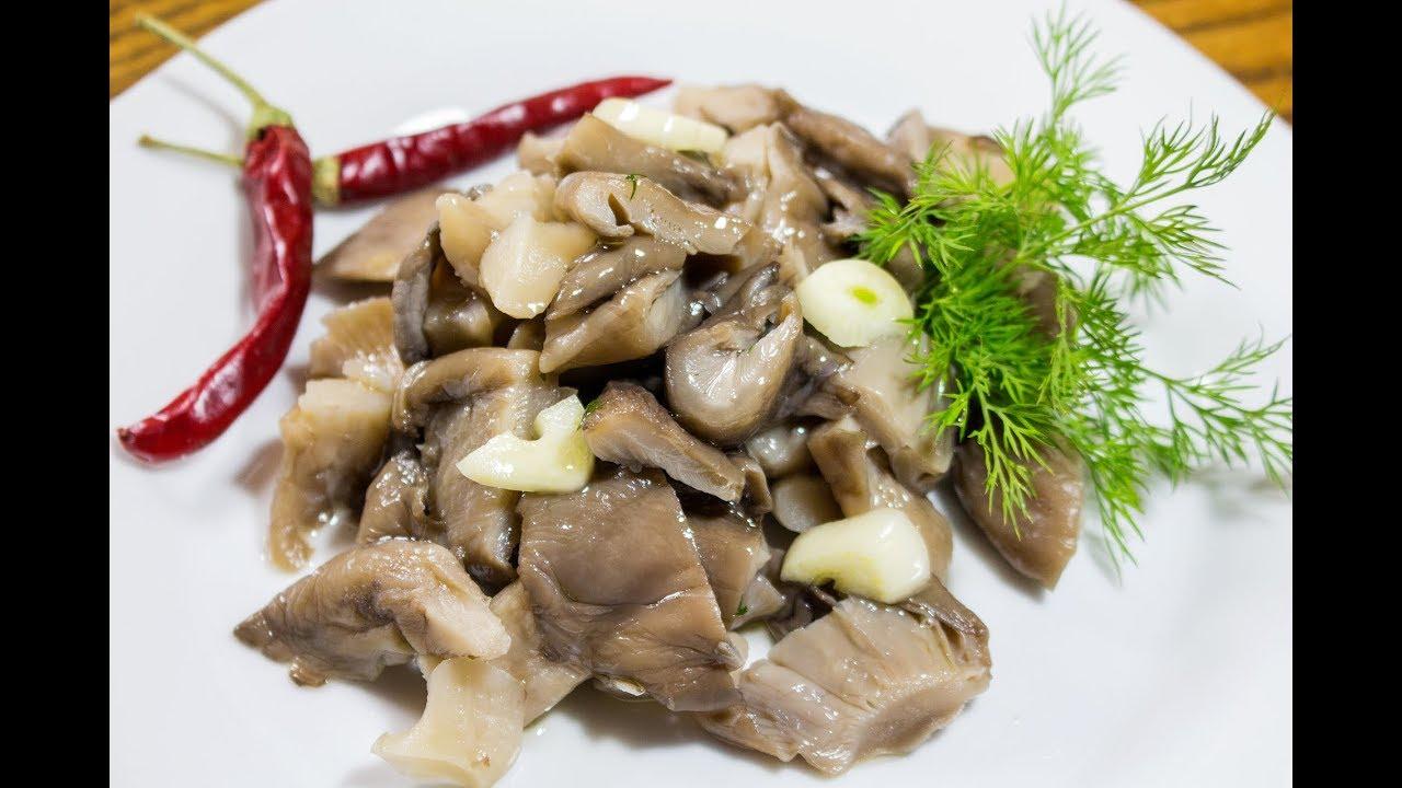 грибы с острым перцем