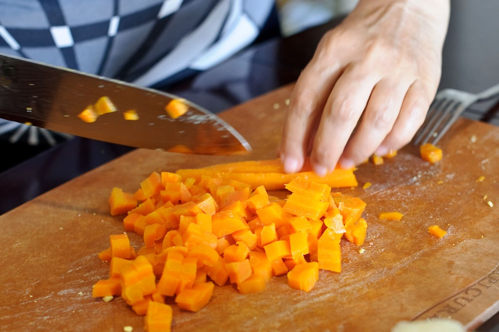 морковь кубиками для оливье