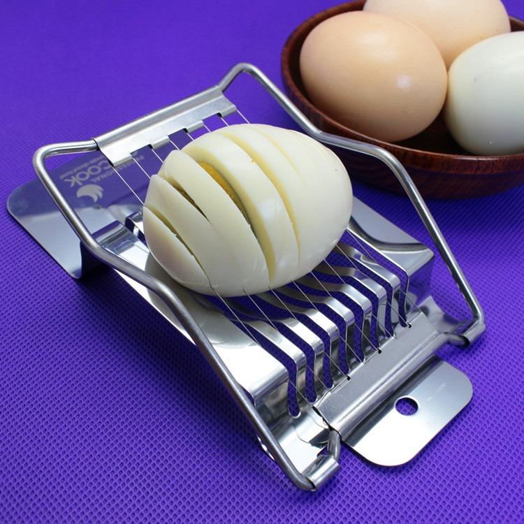 нарезка яиц для салата оливье