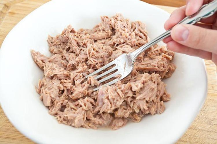 тунец для салата мимоза